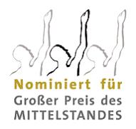Nominiert für Großer Preis des MITTELSTANDES