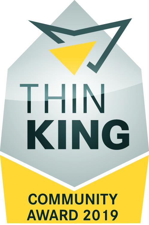 Preis: ThinKing Community Award 2019