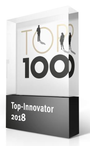 Preis für TOP-Innovator 2018