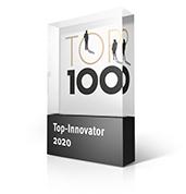 Top 100 Innovator 2020 - Auszeichnung ELB Ceranod
